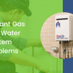instant gas hot water system problems