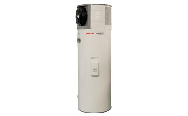 Rinnai heat pump hot water system - image Rinnai