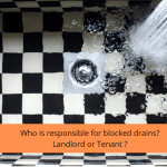 who is responsible for blocked drains